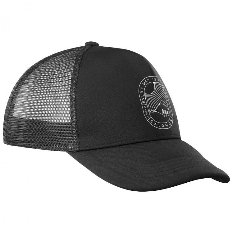 SALOMON SUMMER CAP LOGO BLACK