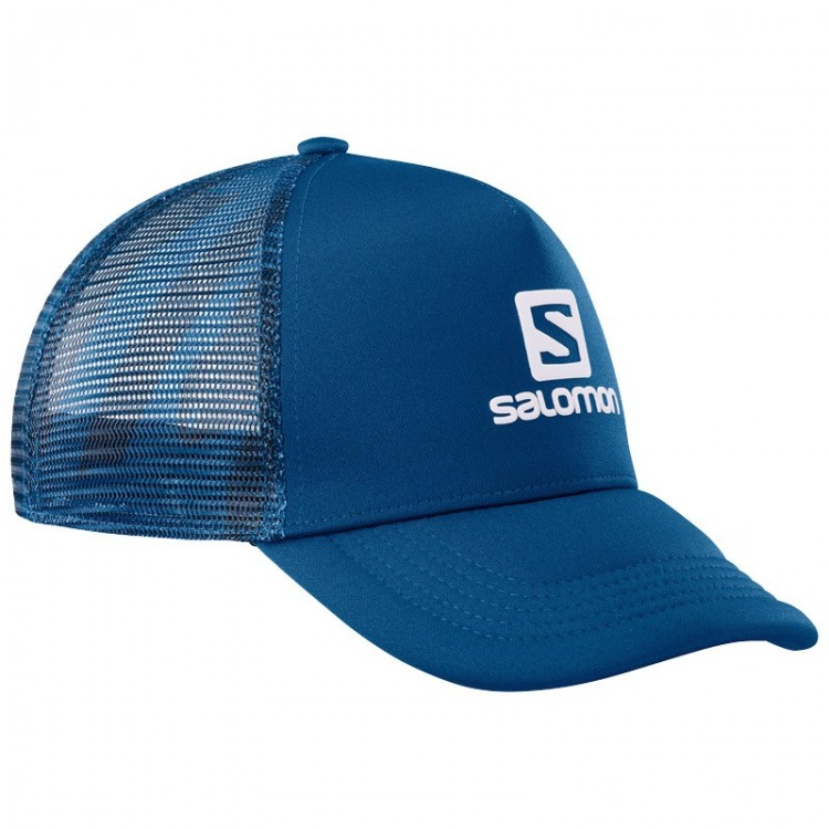 SALOMON SUMMER CAP LOGO BLUE