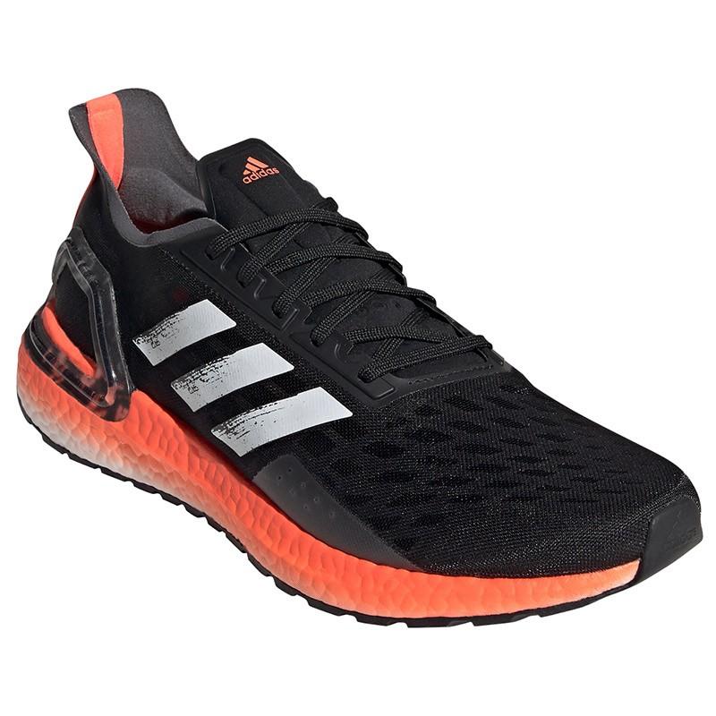 adidas ultraboost pb negro/naranja