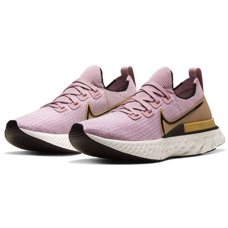 NIKE REACT INFINITY WMNS PINK/GOLD
