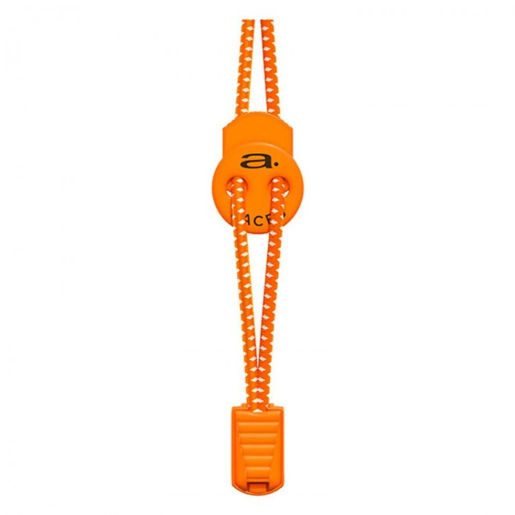 ORANGE/WHITE AQUAMAN A-LACE CORDS