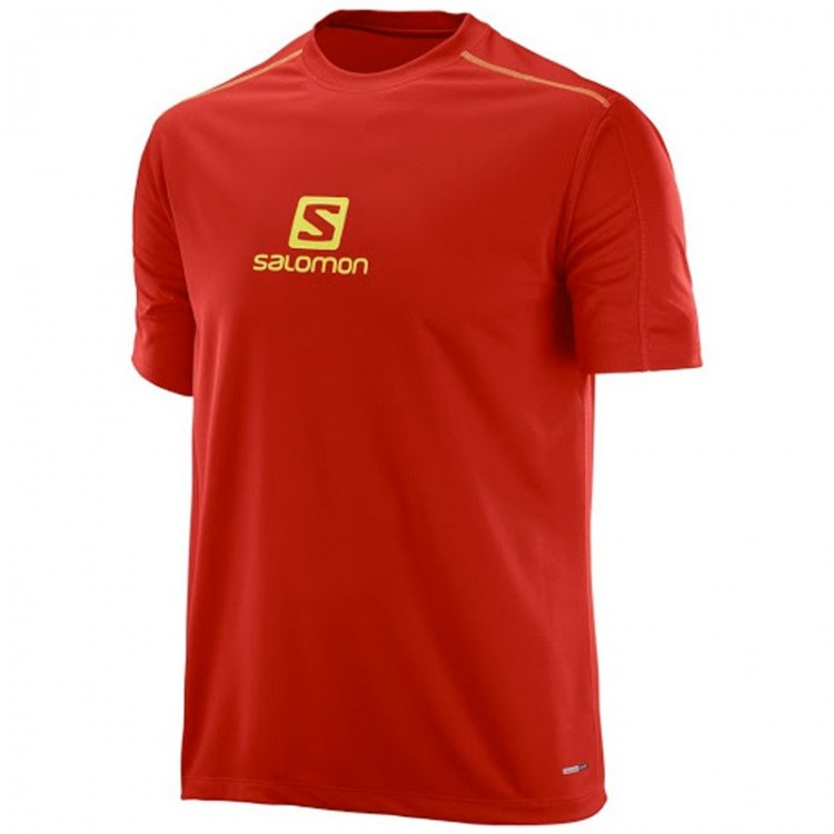 SALOMON STROLL LOGO SS TEE RED