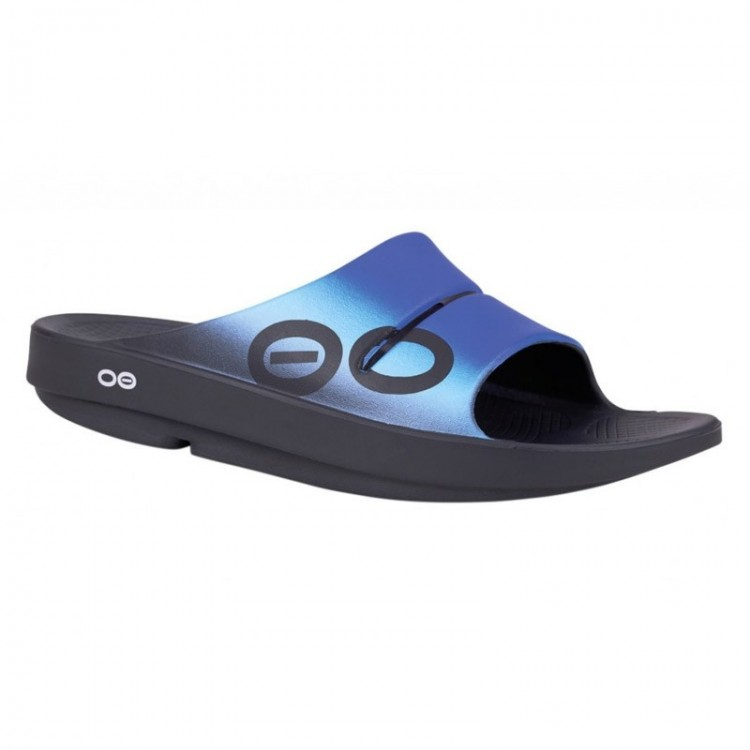 CHANCLAS RECOVERY OOAHH AZUL
