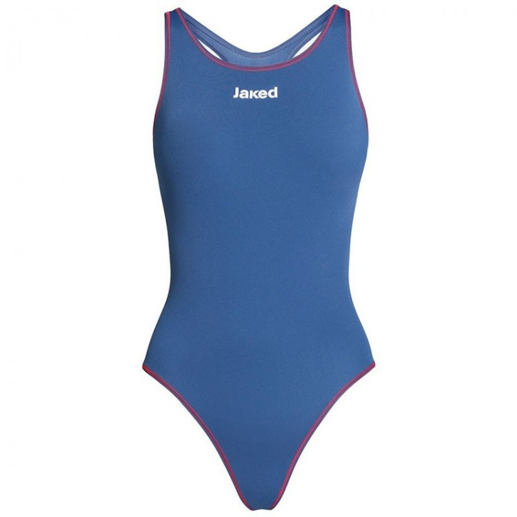 MILANO SWIMSUIT W BLUE/RED