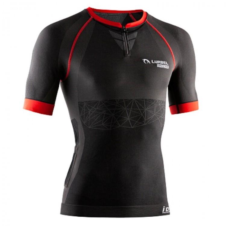 LURBEL ZEUS PRO UNISEX T-SHIRT BLACK RED