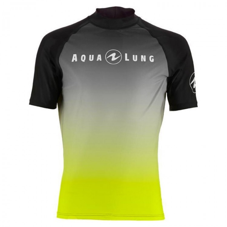 LYCRA AQUALUNG RASHGUARD M YELLOW