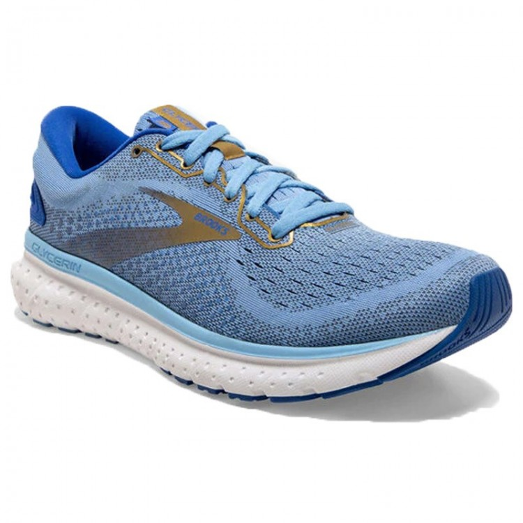 BROOKS GLYCERIN 18 W BLUE